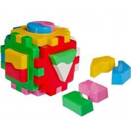 """Куб """"Розумный малюк"""" - Дроби и фигуры 2452 Технок, Украина"""