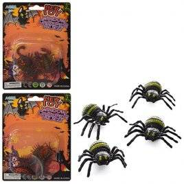 Насекомые и скорпионы игрушечные 3 вида DE-001249-250