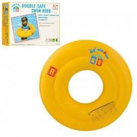 Круг детский надувной желтый D25700