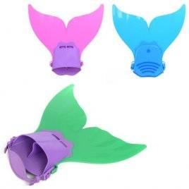 Ласты детские Хвост русалки 3 цвета D25722