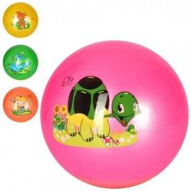 Мяч детский Животные MS 2602-4