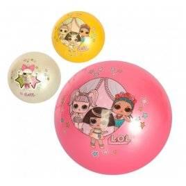 Мяч детский LOL 9 дюймов резиновый 2604