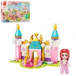 Конструктор замок принцессы+фигурка 131 детталь 2613-1 Qman