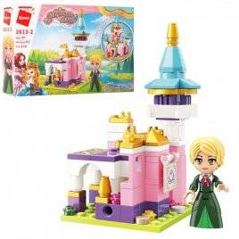Конструктор Замок принцессы+фигурка 116 деталей 2613-2 Qman