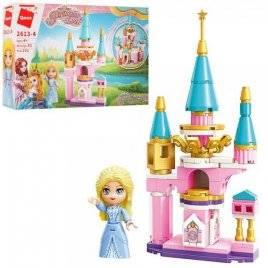 Конструктор Замок принцессы+фигурка 103 детали  2613-4 Qman