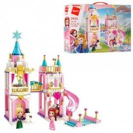 Конструктор Замок принцессы+ фигурки 405 деталей 2615 Qman