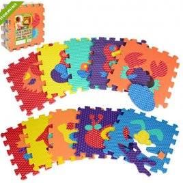 Коврик пазл  для детей Животные текстурный 2616-2619