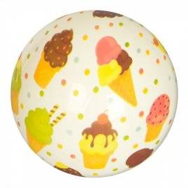 Мяч детский мороженое MS 2621 9 дюймов