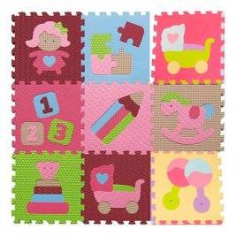 Коврик пазл массажный текстурный Мозаика игрушки M 2631 EVA