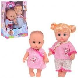 Набор кукол мальчик и девочка со звуком A266