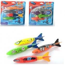 Игра подводная рыбалка  4 рыбки M 2689