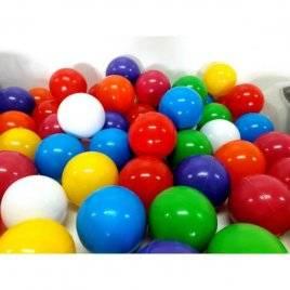 Шарики для сухого бассейна 40 штук d6см мягкие 02-412 Киндервей