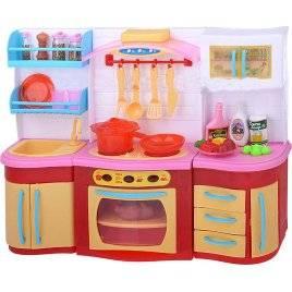 Кухня набор мебели для кукол Медовая 2801