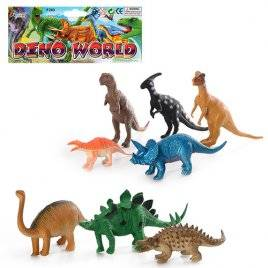 Динозавры набор фигурок 8 штук 283
