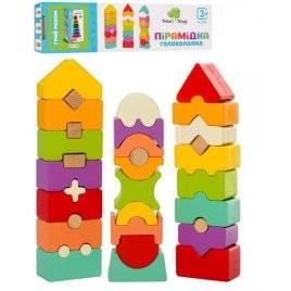 Деревянная игрушка Баланс блоки 3 вида MD 2883