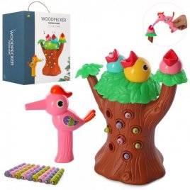 Игра магнитная дерево с музыкой и светом+ птичка и гусеницы 228K47