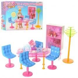 Мебель для кукол Модерн Столовая 2912 Gloria
