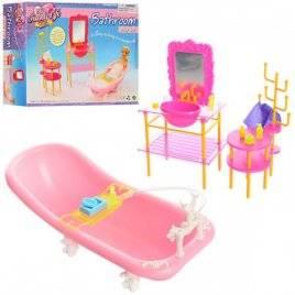 Мебель для кукол Ванная с умывальником 2913 Gloria