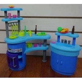 УЦЕНКА!!! Мебель для кукол Кухня со стойкой 2916 Gloria