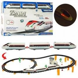 Многоуровневая железная дорога игрушка