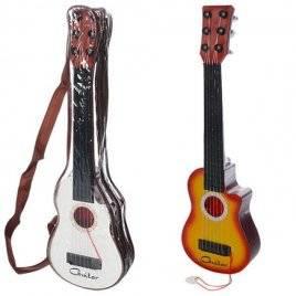Гитара 4 струны +медиатор в чехле 295