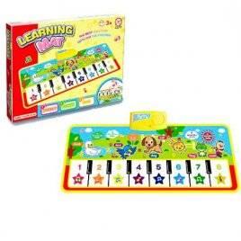 Развивающая игрушка Пианино-коврик детское с музыкальными эффектами LT2957