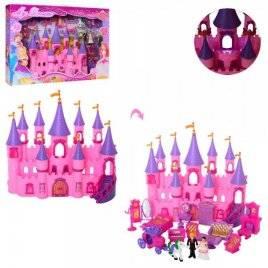 Замок с мебелью фигурками и каретой с лошадью SG-2975