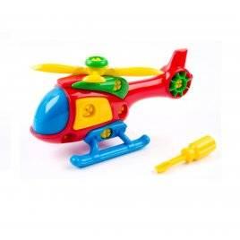 """Конструктор собирайка разборной """"Вертолет"""" 30.010 Toys Plast, Украина"""