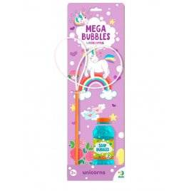 Мыльные пузыри Mega Bubbles Единорожки 450 мл 300244 DoDo