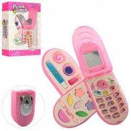 Косметика  телефон 3 яруса + накладные ногти 30033-21