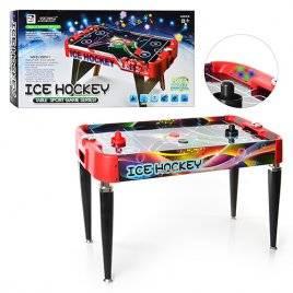 Хоккей воздушный Аэрохоккей большой напольный EL 3005+3 со звуками