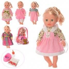 Кукла изящная  Анюта музыкальная с горшком 3008E