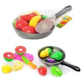 Сковородка и овощи на липучках 3013 С