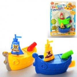 Заводная водоплавающая игрушка Корабли пиратов 3030