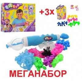 Набор для творчества Onies конструктор из воздушных шариков MK 3043+3*3044 МЕГАНАБОР