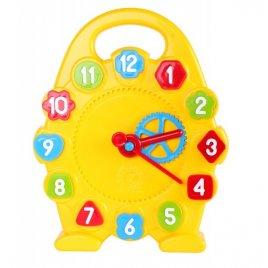 Часы-сортер игрушка развивающая механическая 3046 Технок, Украина