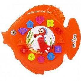 Часы-сортёр Рыбка KW-40-001Kinderway