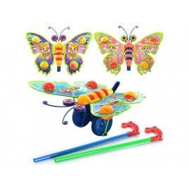 Каталка бабочка - погремушка машет крыльями 305