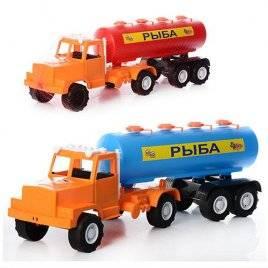 Машина с бочкой Муссон игрушечная  306 Орион, Украина большая