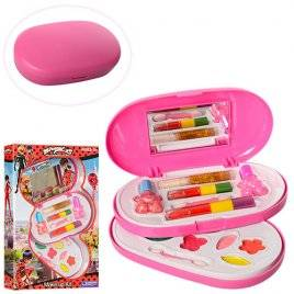 Косметика для девочек игрушечная в пенале 2 яруса MY30088-D59