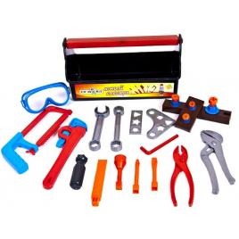 Набор инструментов Юный слесарь 26 предметов в чемодане 31-004 KinderWay