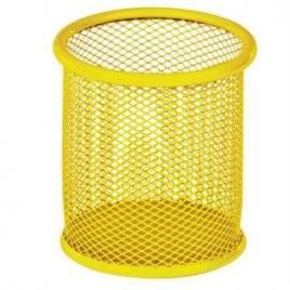 Стакан - подставка для ручек металлический круглый