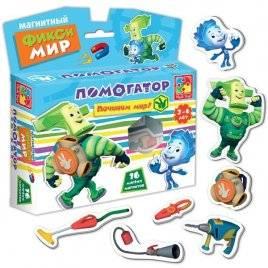 "Магниты с Фиксиками ""Фикси помогатор"" VT3101 Vladi Toys"