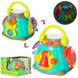 Музыкальная игрушка Бочонок с мелодиями 3119