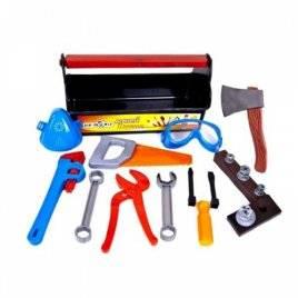 Набор инструментов Юный плотник 23 предмет в чемоданчике 32-004 KinderWay