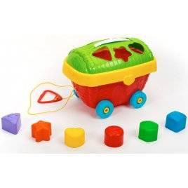 Каталка сортер Чемоданчик ИП.32.001 Toys Plast