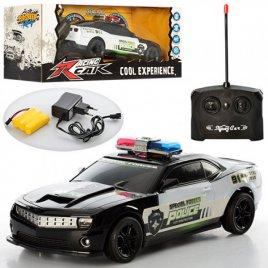 Машина на радиоуправлении Полиция на аккумуляторах с резиновыми колесами 320-6