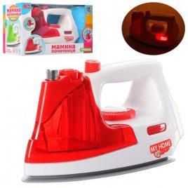 Утюг детский со светом 3207 красный