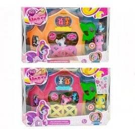 Пластиковый игрушечный домик для Литл Пони 3210 В
