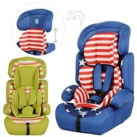 Автокресло для детей 1+2+3 от 9 до 36 кг 3214-3215 Bambi